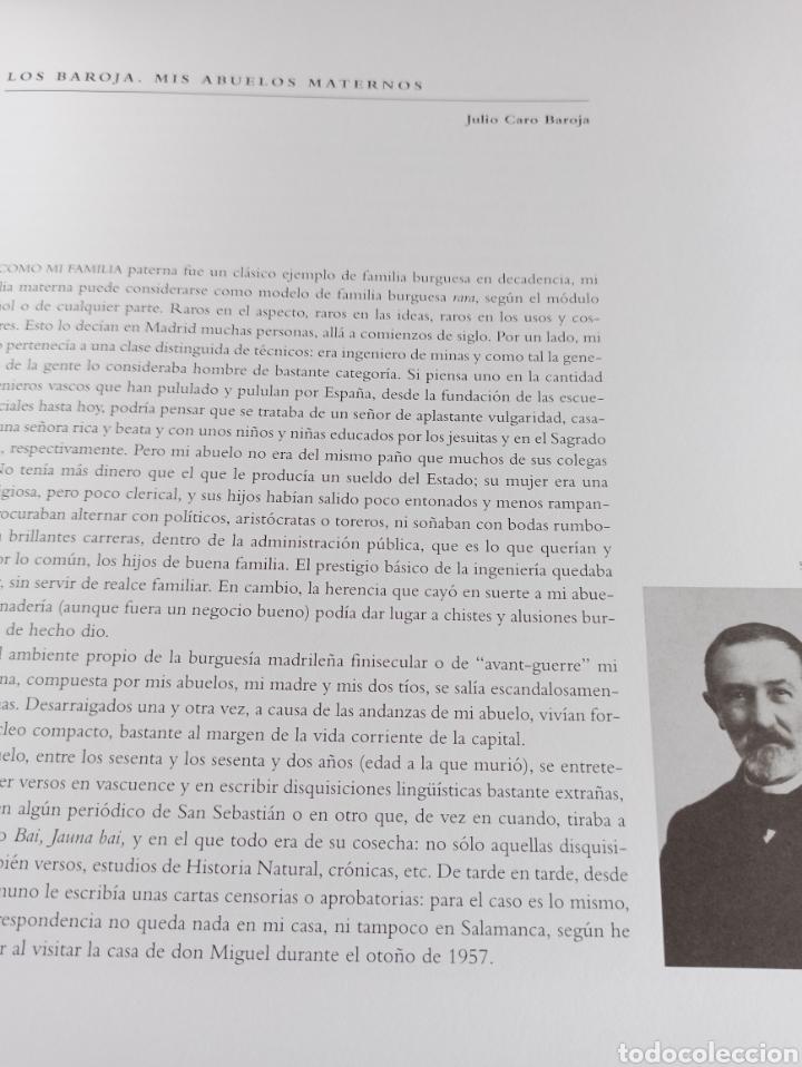 Libros: Los Baroja en Madrid catálogo exposición Museo Municipal 1997 - Foto 3 - 287677048