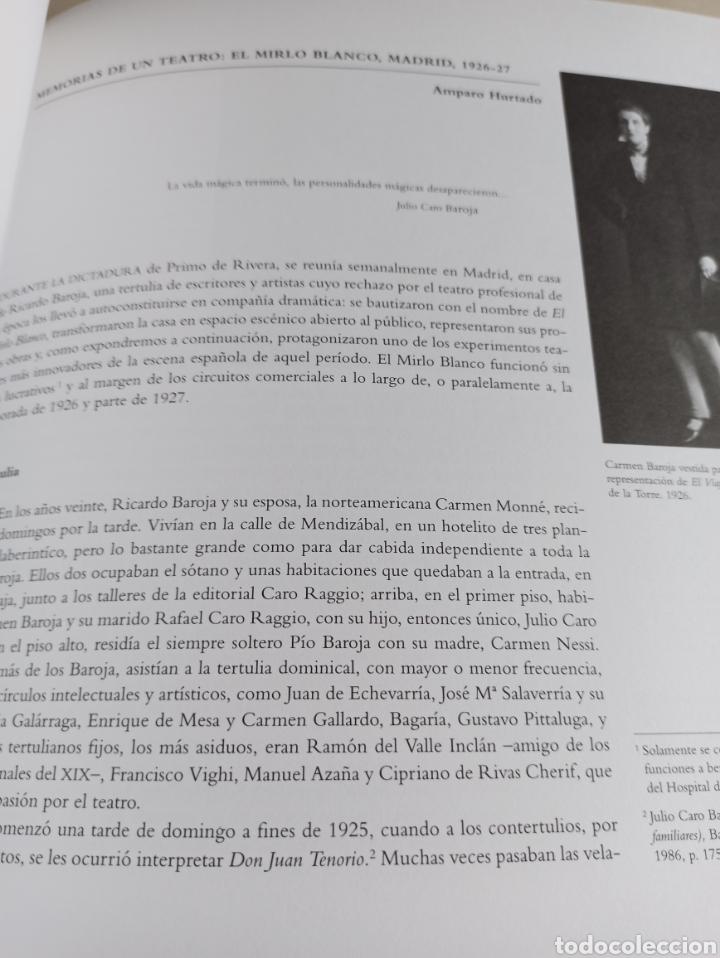 Libros: Los Baroja en Madrid catálogo exposición Museo Municipal 1997 - Foto 4 - 287677048