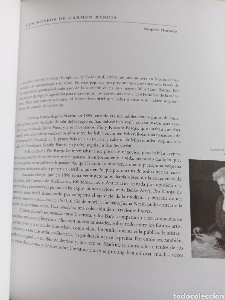 Libros: Los Baroja en Madrid catálogo exposición Museo Municipal 1997 - Foto 8 - 287677048