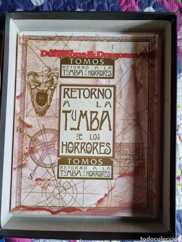 Libros: Retorno a la tumba de los horrores. - Foto 4 - 287849278