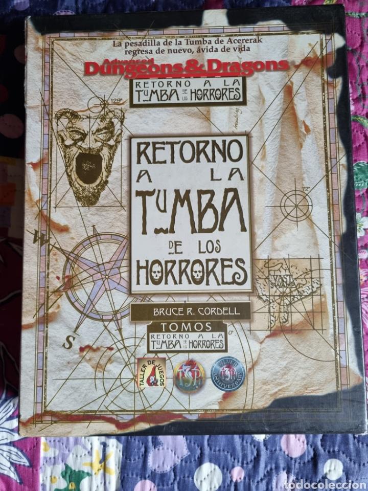 Libros: Retorno a la tumba de los horrores. - Foto 5 - 287849278