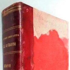 Libros: COLECCION LEGISLATIVA DEL EJERCITO. AÑO 1894. MINISTERIO DE LA GUERRA. - VVAA. TDK358. Lote 287916148
