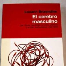 Libros: EL CEREBRO MASCULINO.- BRIZENDINE, LOUANN. Lote 287968378