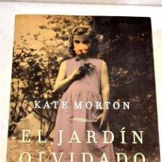 Libros: EL JARDÍN OLVIDADO.- MORTON, KATE. Lote 287968503