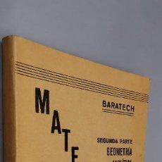 Libros: MATEMATICAS 7º CURSO. BENIGNO BARATECH Y JOSE M ROYO VILLANOVA LIBRERIA GENERAL ZARAGOZA 1939. Lote 287972493