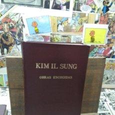 Libros: KIM IL SUNG. OBRAS ESCOGIDAS. VI. Lote 288152478