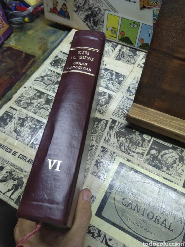 Libros: Kim Il Sung. Obras escogidas. VI - Foto 3 - 288152733