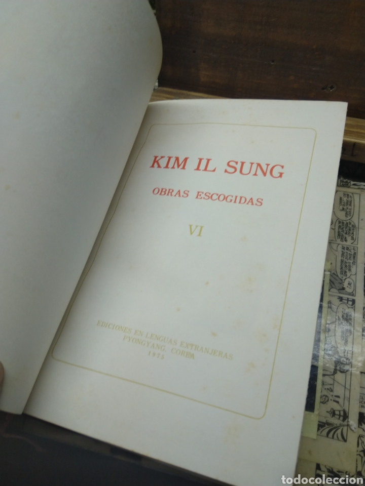 Libros: Kim Il Sung. Obras escogidas. VI - Foto 5 - 288152733