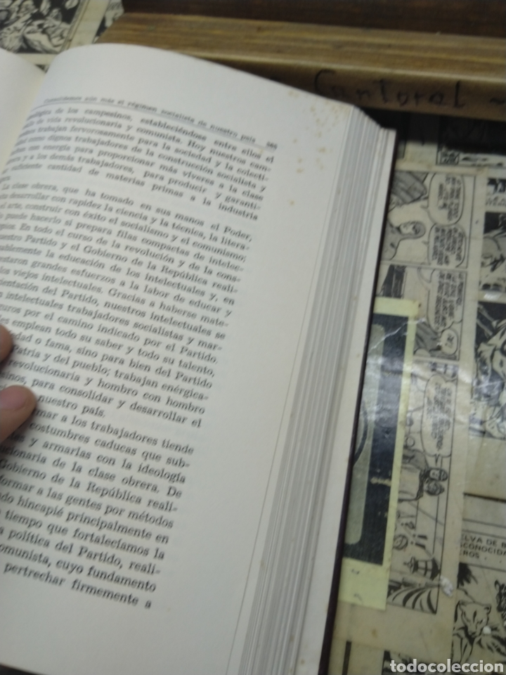 Libros: Kim Il Sung. Obras escogidas. VI - Foto 7 - 288152733