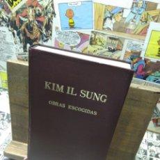 Libros: KIM IL SUNG. OBRAS ESCOGIDAS. VI. Lote 288152733