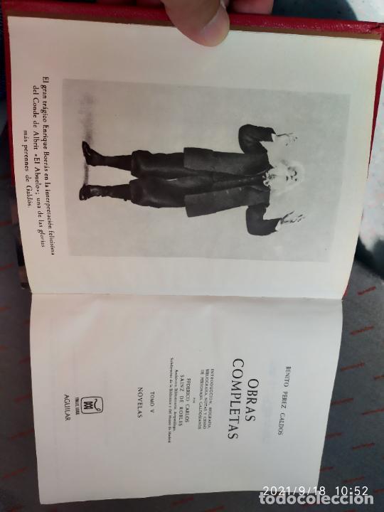 Libros: Benito Perez Galdos obras completas novella 2 editorial aguilar - Foto 2 - 288290178