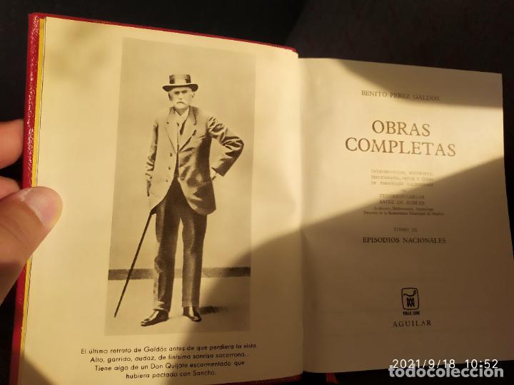 OBRAS COMPLETAS BENITO PEREZ GALDOS EPISODIOS NACIONALES TOMO 2 EDITORIAL AGUILAR (Libros sin clasificar)