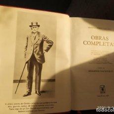 Libros: OBRAS COMPLETAS BENITO PEREZ GALDOS EPISODIOS NACIONALES TOMO 2 EDITORIAL AGUILAR. Lote 288290313