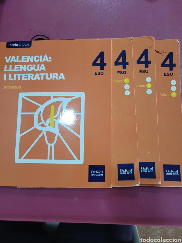 VALENCIA LLENGUA Y LITERATURA 4 ESO (Libros sin clasificar)