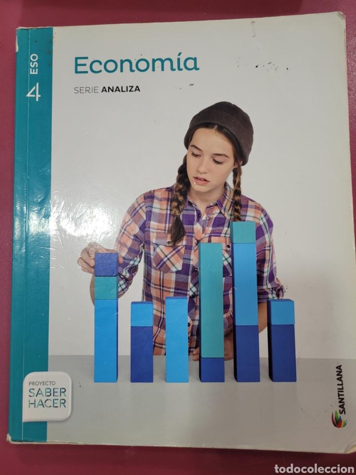 ECONOMÍA SERIE ANALIZA SANTILLANA 4 ESO (Libros sin clasificar)