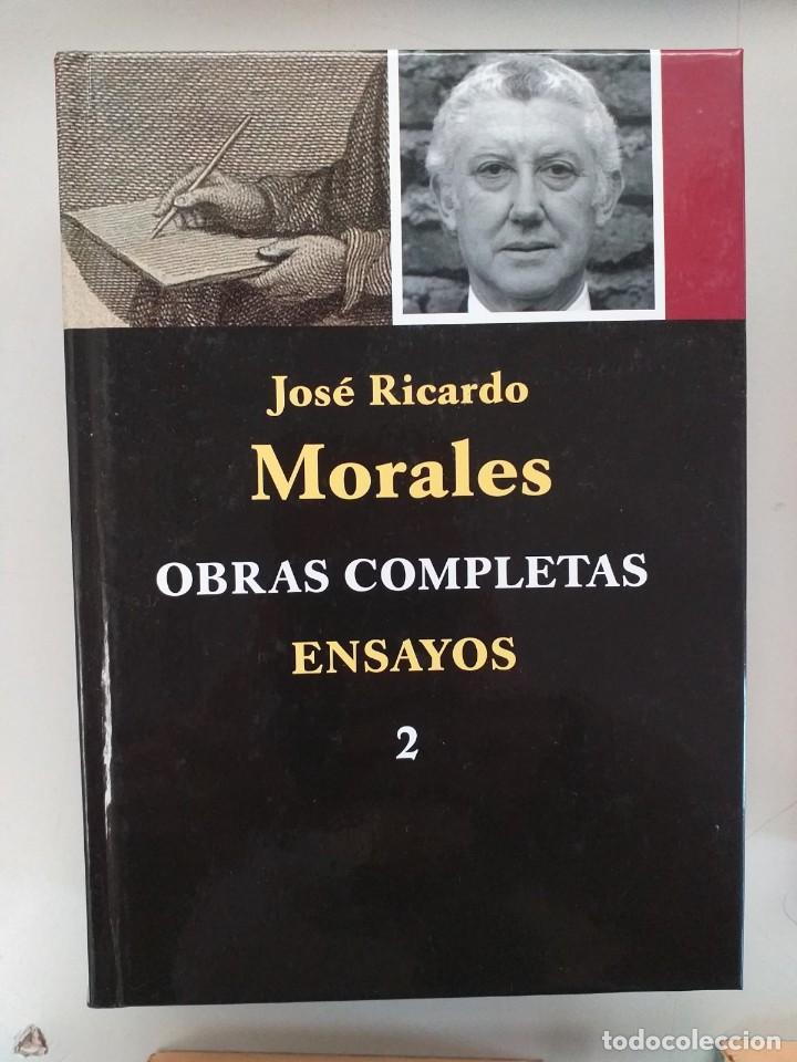 OBRAS COMPLETAS - TOMO 2. ENSAYOS - JOSE RICARDO MORALES (Libros sin clasificar)