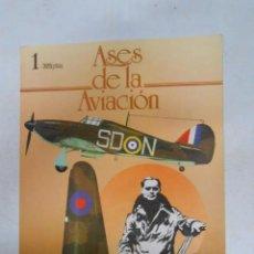 Libros: ASES DE LA AVIACION - Nº 1 - EDITORIAL DELTA 1984. - VVAA. TDKR27. Lote 288733273