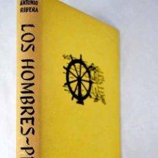 Libros: LOS HOMBRES-PECES: (EXPLORACIÓN Y ARQUEOLOGÍA SUBMARINA).- RIBERA, ANTONIO. Lote 288748528