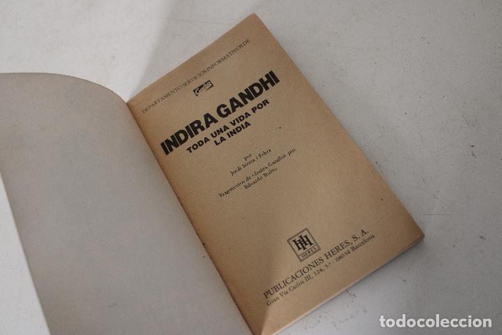 Libros: Libro de revista GARBO INDIRA GANDHI Toda la vida por la India - Foto 4 - 288861558