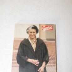 Libros: LIBRO DE REVISTA GARBO INDIRA GANDHI TODA LA VIDA POR LA INDIA. Lote 288861558