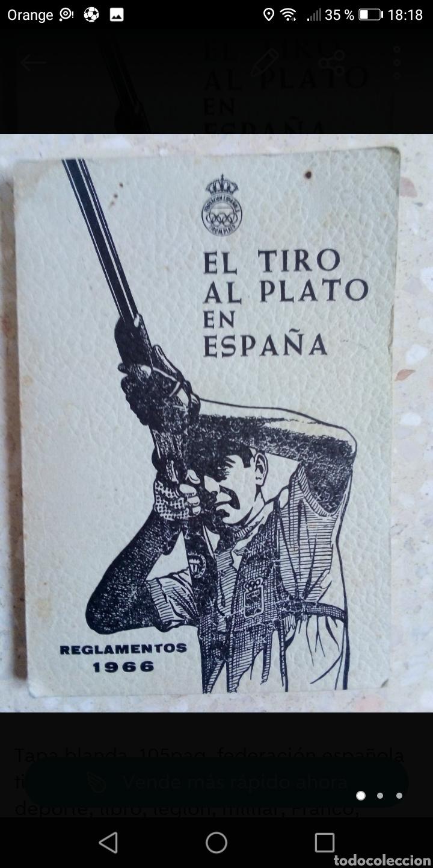 Libros: Reglamento el tiro al plato en España 1966 tapa blanda 105paginas. - Foto 2 - 288965118