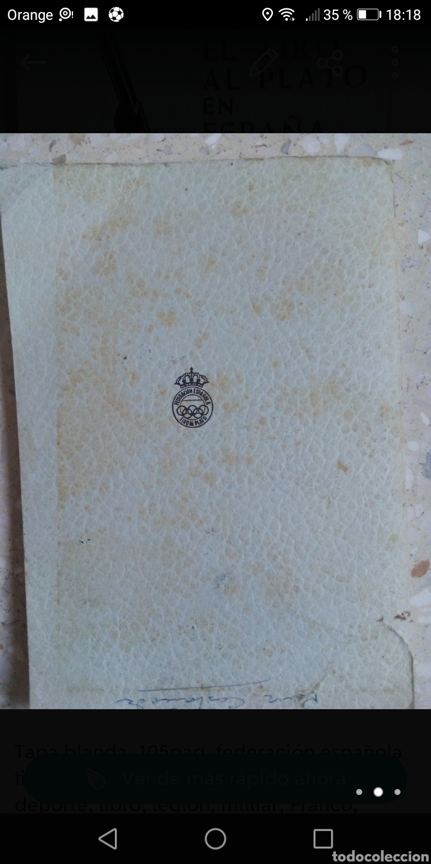 Libros: Reglamento el tiro al plato en España 1966 tapa blanda 105paginas. - Foto 3 - 288965118