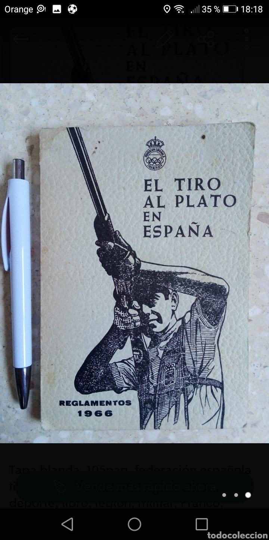 REGLAMENTO EL TIRO AL PLATO EN ESPAÑA 1966 TAPA BLANDA 105PAGINAS. (Libros sin clasificar)