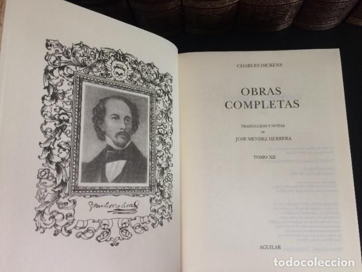 Libros: 2005. DICKENS. OBRAS COMPLETAS. 10 TOMOS. AGUILAR. - Foto 2 - 288969398