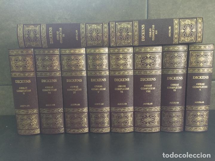 2005. DICKENS. OBRAS COMPLETAS. 10 TOMOS. AGUILAR. (Libros sin clasificar)
