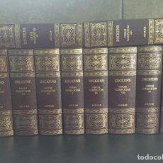 Libros: 2005. DICKENS. OBRAS COMPLETAS. 10 TOMOS. AGUILAR.. Lote 288969398