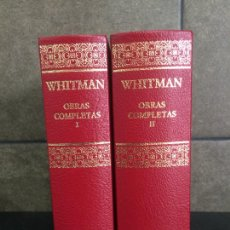 Libros: 2005. WHITMAN. OBRAS COMPLETAS. 2 TOMOS. AGUILAR.. Lote 288969408