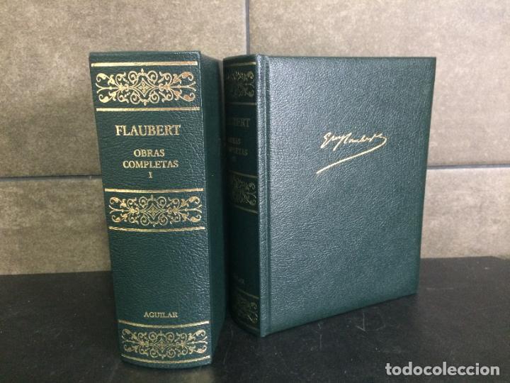 2005. FLAUBERT. OBRAS COMPLETAS. TOMOS I Y III. AGUILAR. (Libros sin clasificar)