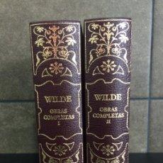 Libros: 2004. OSCAR WILDE. OBRAS COMPLETAS. 2 TOMOS. AGUILAR.. Lote 288969423