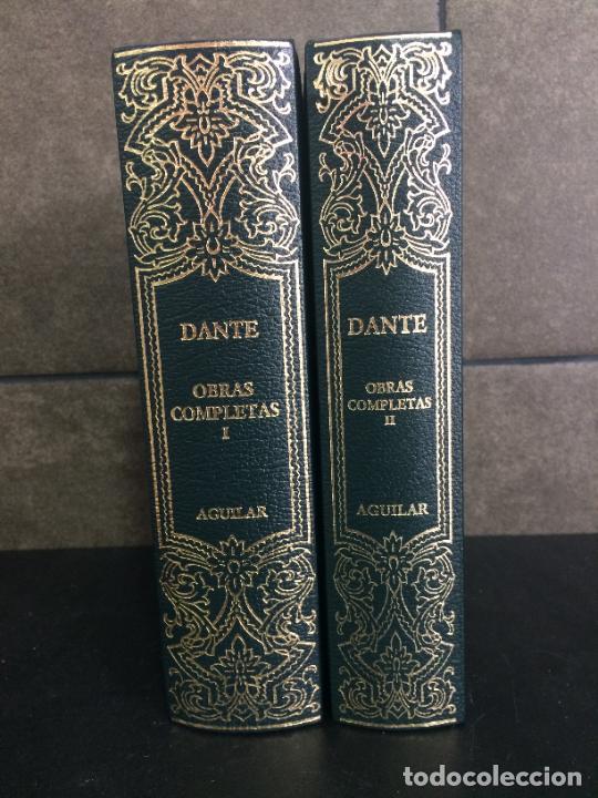 2006. DANTE. OBRAS COMPLETAS. AGUILAR 2 TOMOS. (Libros sin clasificar)