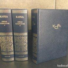 Libros: 2005. KAFKA. OBRAS COMPLETAS. 3 VOLUMENES. EDICION COMPLETA EN 3 TOMOS.. Lote 288969438