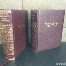 Libros: 2004. MIGUEL DE CERVANTES. OBRAS COMPLETAS. AGUILAR. 2 TOMOS.. Lote 288969443
