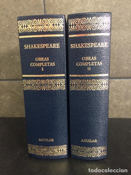 2004. SHAKESPEARE. OBRAS COMPLETAS. 2 TOMOS. AGUILAR. (Libros sin clasificar)