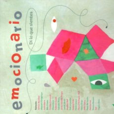 Libros: EMOCIONARIO. DI LO QUE SIENTES - ROMERO VALCÁRCEL, RAFAEL - NÚÑEZ PEREIRA, CRISTINA. Lote 289204163