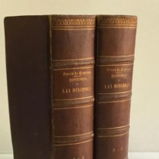 Libros: VIAGE PINTORESCO A LAS CINCO PARTES DEL MUNDO. HISTORIA GENERAL DE LAS MISIONES... - HENRION, BARÓN. Lote 123200274
