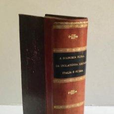 Libros: ENSAIO SOBRE A ECONOMIA RURAL DA INGLATERRA, ESCOCIA E IRLANDA POR... - LAVERGNE, LÉONCE DE.. Lote 123207147