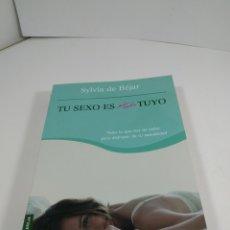 Livros em segunda mão: TÚ SEXO ES TUYO. SYLVIA DE BÉJAR. BOOKET.. Lote 289335243