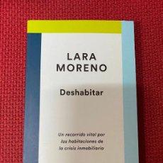 Libros: DESHABITAR. LARA MORENO. DESTINO, 2020.. Lote 289428613