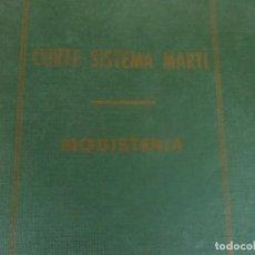 Libros: CORTE SISTEMA MARTI, MODISTERIA. Lote 289445778