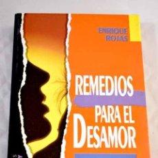 Libros: REMEDIOS PARA EL DESAMOR.- ROJAS, ENRIQUE. Lote 289533358