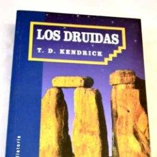 Libros: LOS DRUIDAS.- KENDRICK, THOMAS D.. Lote 289533363