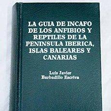 Libros: LA GUIA DE INCAFO DE LAS AVES DE LA PENINSULA IBERICA, RAMÓN SAEZ ROYUELA PUBLICADO POR INCAFO ARCH. Lote 289603593
