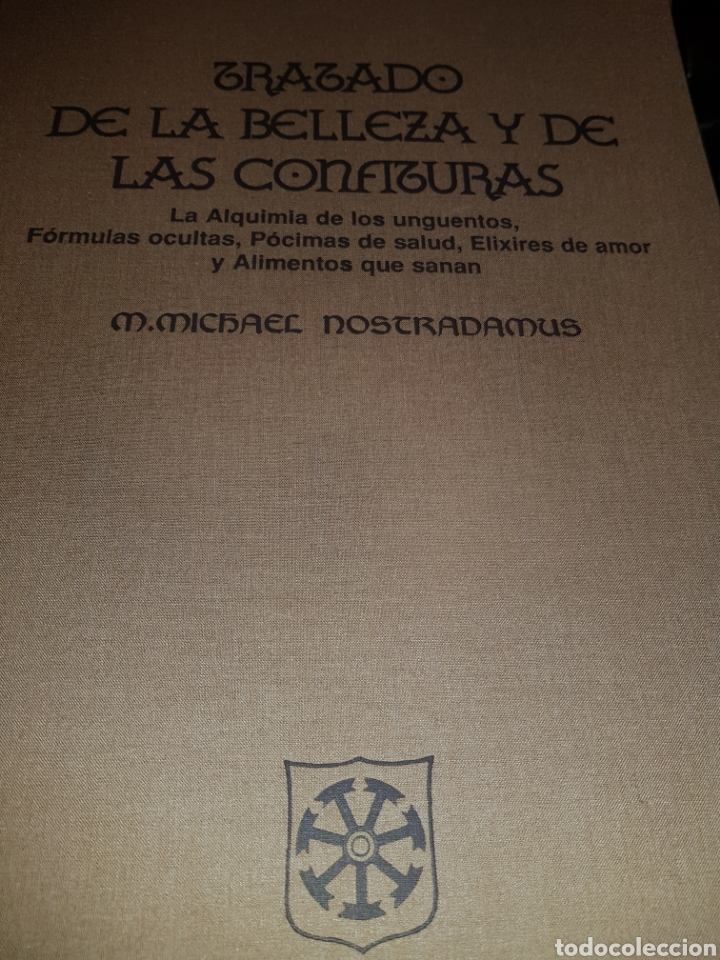 Libros: FACSÍMIL TRATADO DE LA BELLEZA Y DE LAS CON FIGURAS DE NOSTRADAMUS - Foto 7 - 289639598