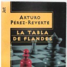 Libros: LA TABLA DE FLANDES - ARTURO PÉREZ-REVERTE. Lote 289669033