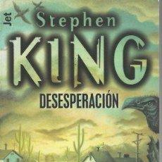Libros: DESESPERACIÓN - STEPHEN KING. Lote 289888173