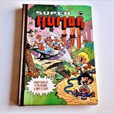 Libros: LIBRO SUPER HUMOR MORTADELO Y FILEMON - 19 X 27.CM. Lote 289890763